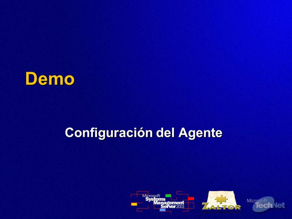 Demo Configuración del Agente