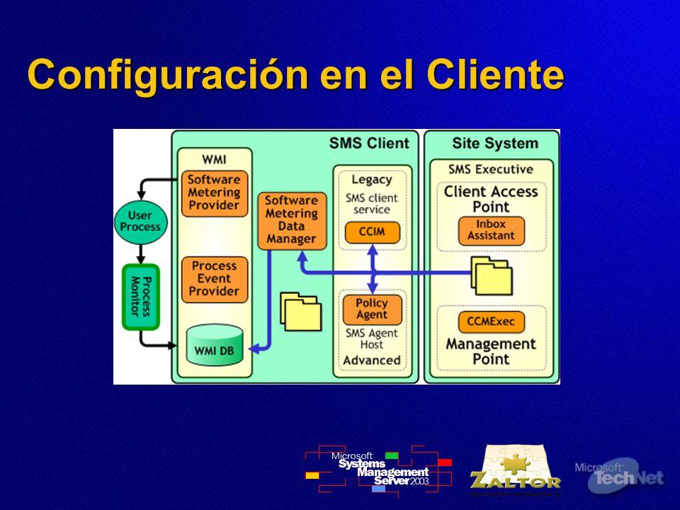 Configuración en el Cliente