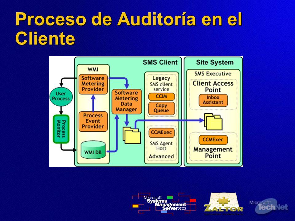 Proceso de Auditoría en el Cliente