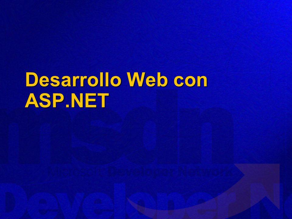 Desarrollo Web con ASP.NET