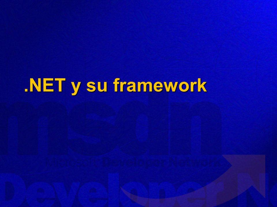 .NET y su framework