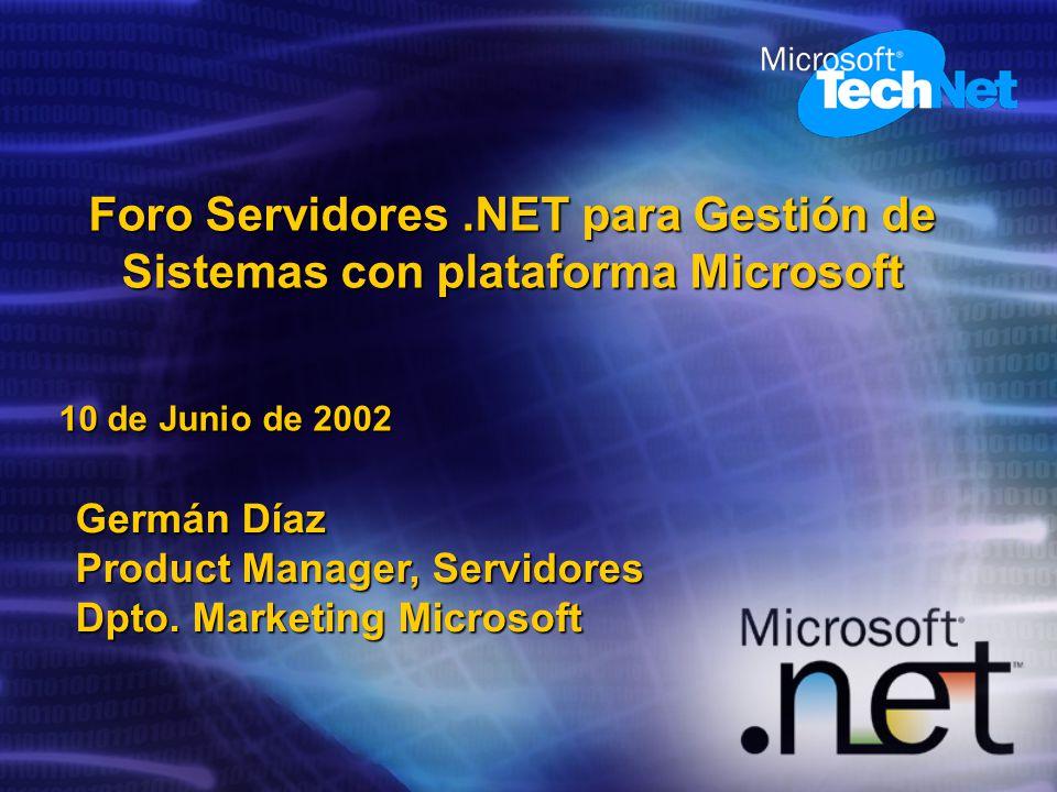 Germán Díaz Product Manager, Servidores Dpto.