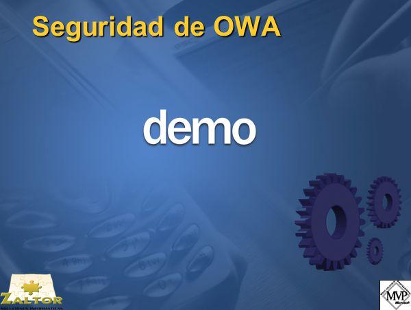 Seguridad de OWA
