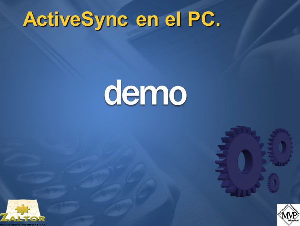 ActiveSync en el PC.