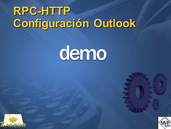 RPC-HTTP Configuración Outlook