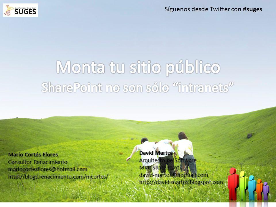 1 Mario Cortés Flores Consultor Renacimiento mariocortesflores@hotmail.comhttp://blogs.renacimiento.com/mcortes/ Síguenos desde Twitter con #suges Dav