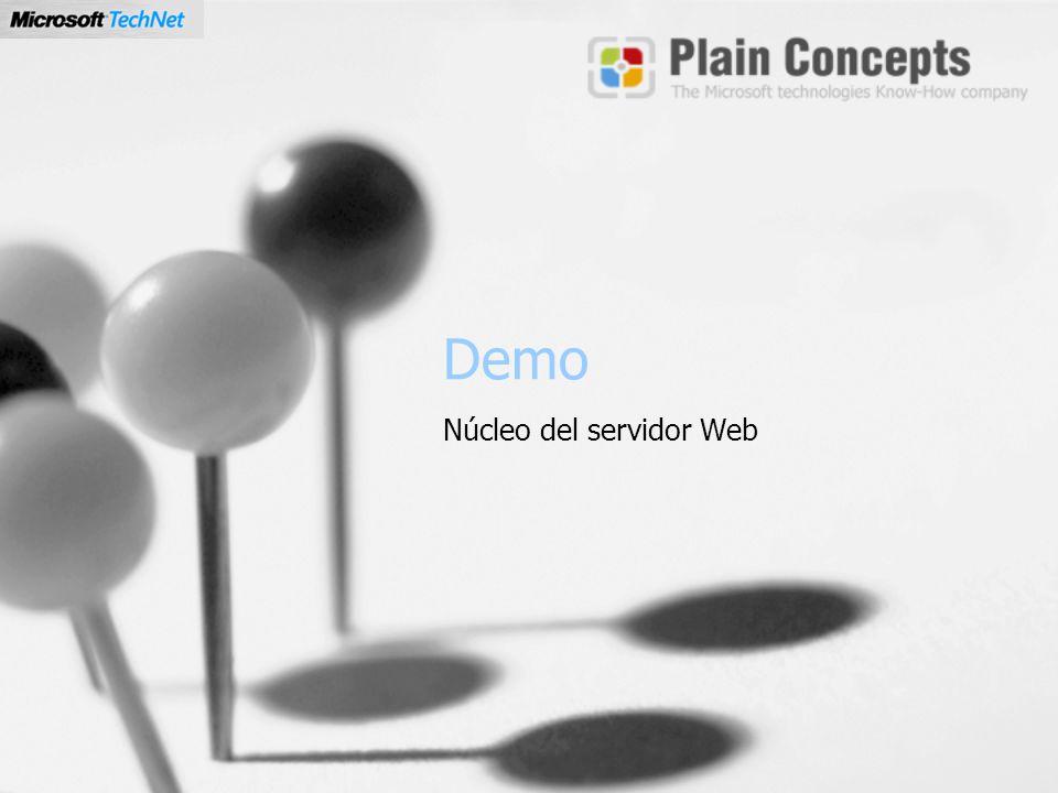Demo Núcleo del servidor Web