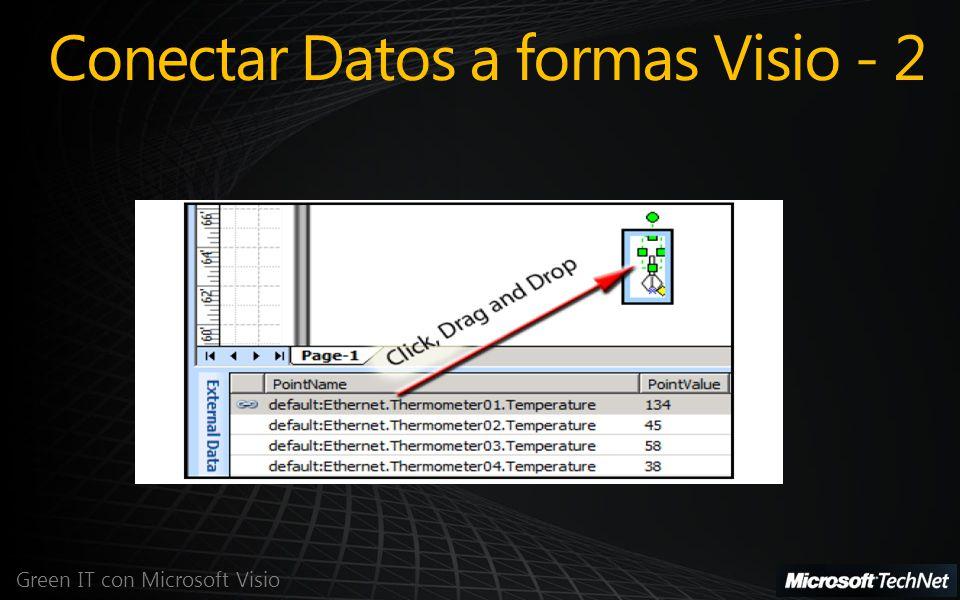 Conectar Datos a formas Visio - 2