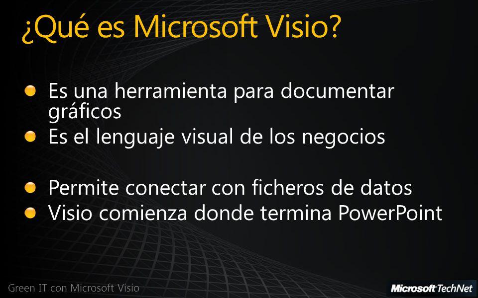 ¿Qué es Microsoft Visio? Green IT con Microsoft Visio