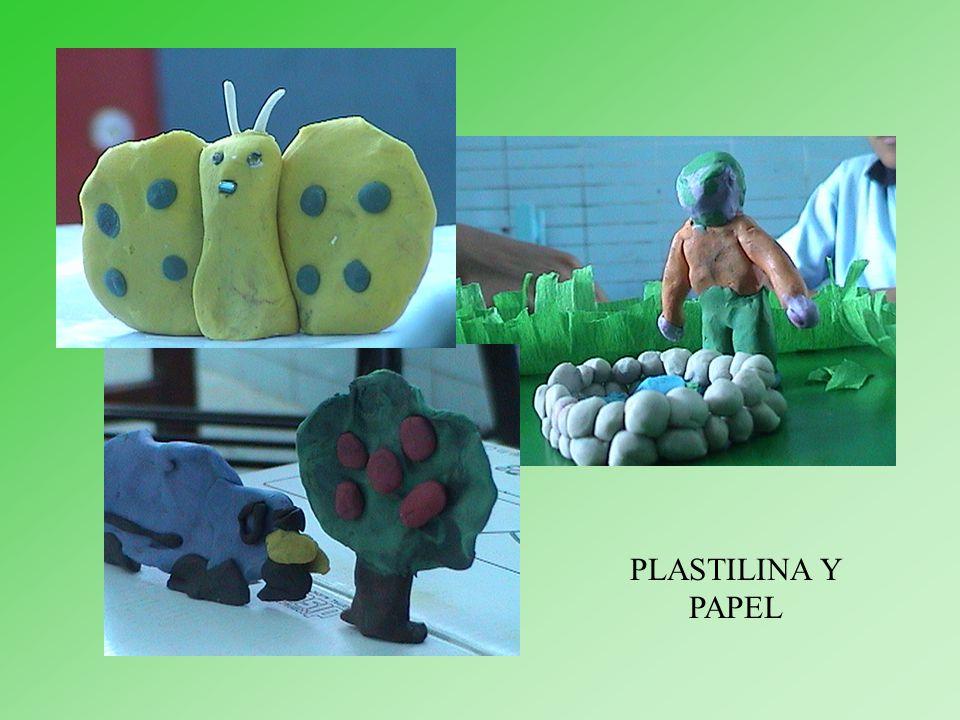 PLASTILINA Y PAPEL