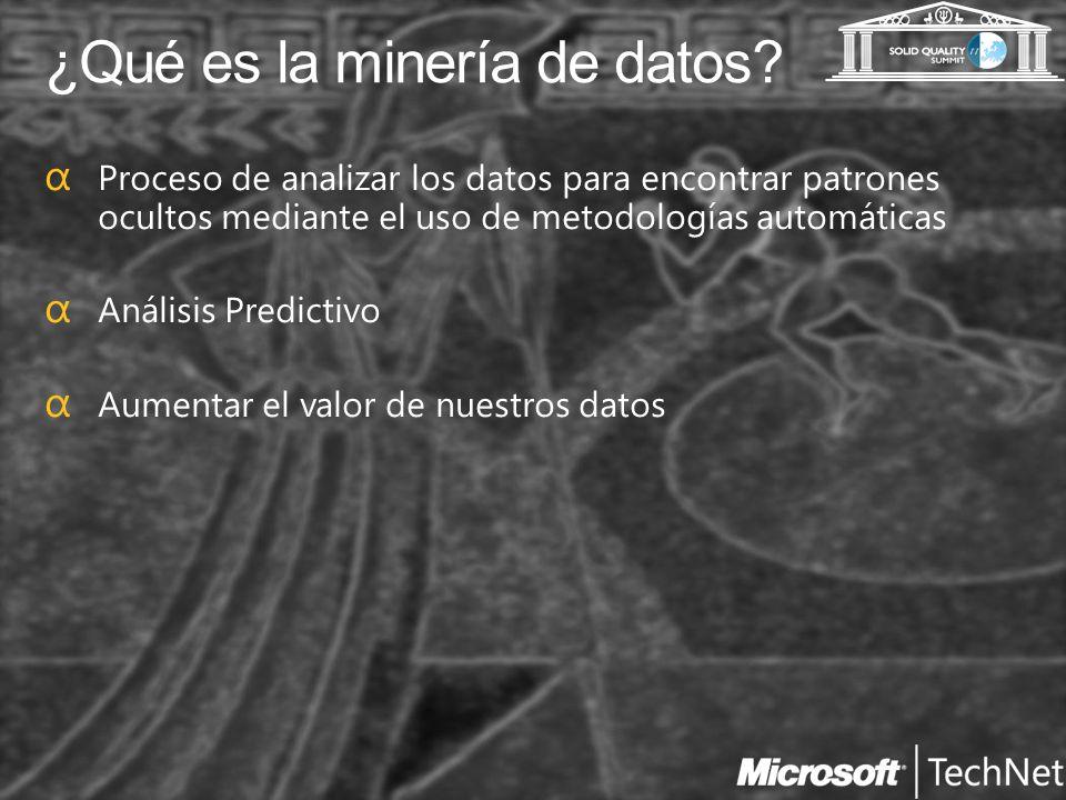¿Qué es la minería de datos