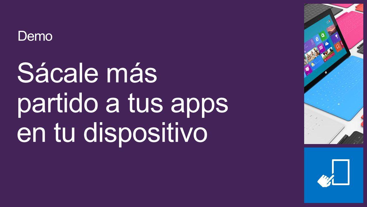 Sácale más partido a tus apps en tu dispositivo