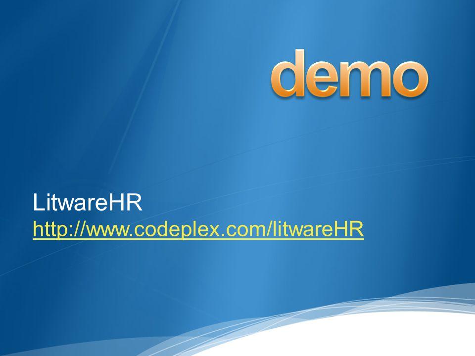 LitwareHR http://www.codeplex.com/litwareHR