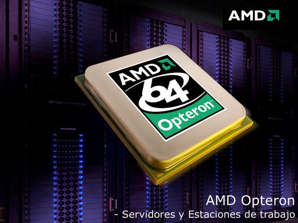 AMD Opteron - Servidores y Estaciones de trabajo