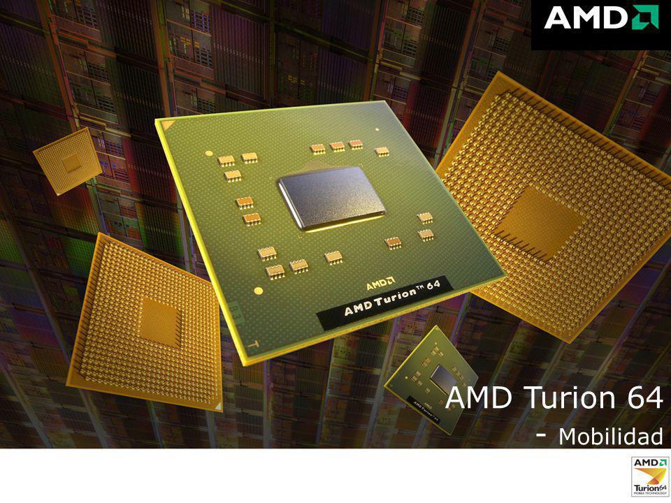 11 AMD Turion 64 AMD Turion 64 - Mobilidad