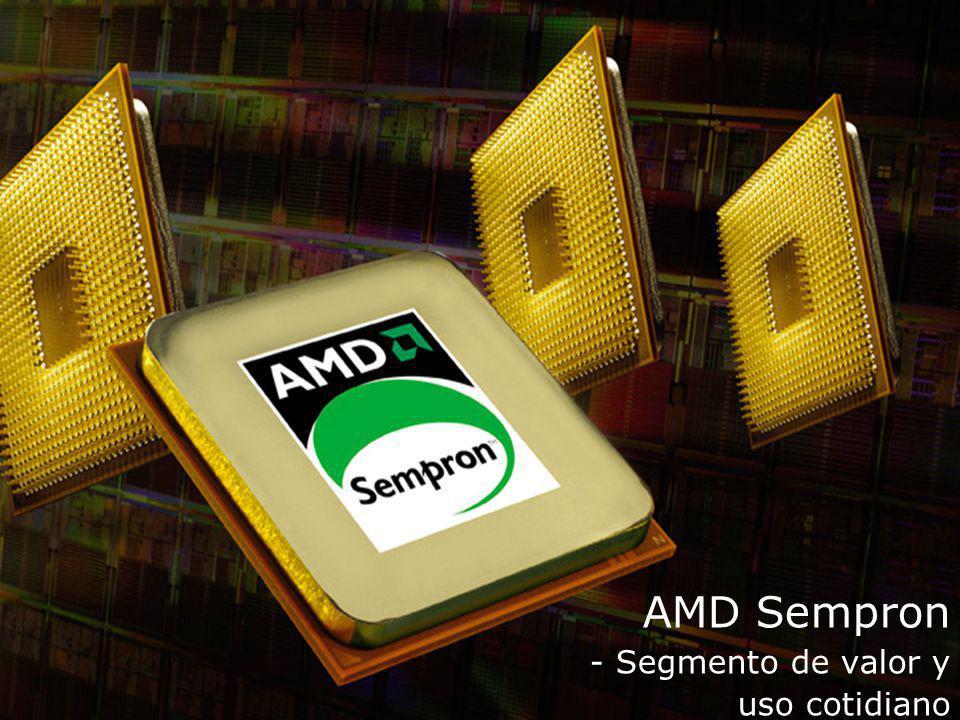 AMD Sempron - Segmento de valor y uso cotidiano