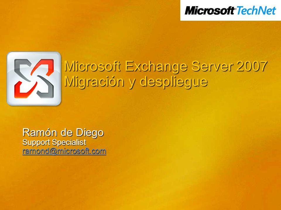 Agenda Requerimientos de instalación Introducción a los roles de servidor y topología Desplegando Exchange Server Coexistencia y Migración