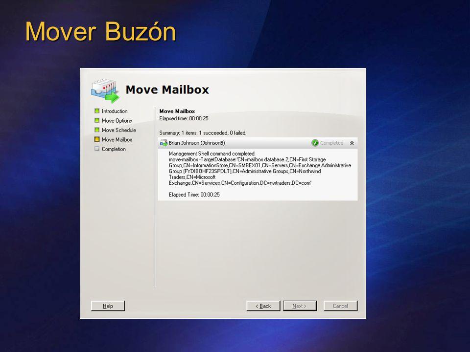 Mover Buzón