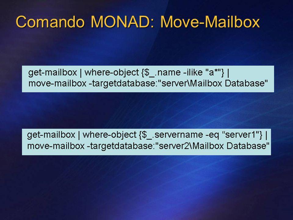 Comando MONAD: Move-Mailbox