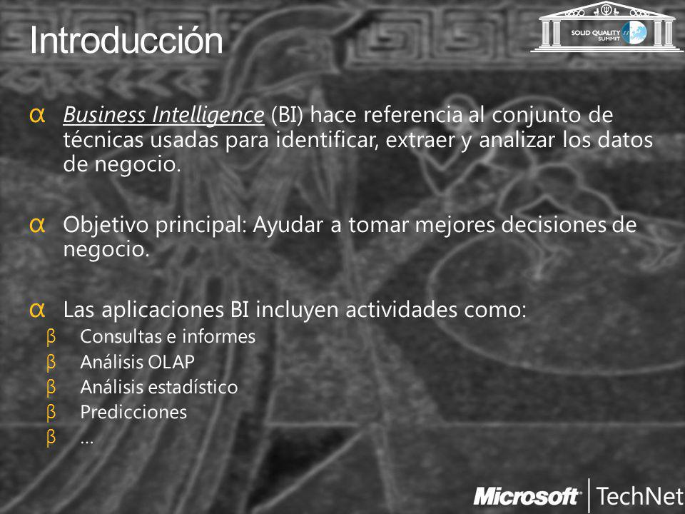 El proceso BI Data Sources