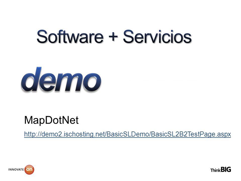 MapDotNet http://demo2.ischosting.net/BasicSLDemo/BasicSL2B2TestPage.aspx