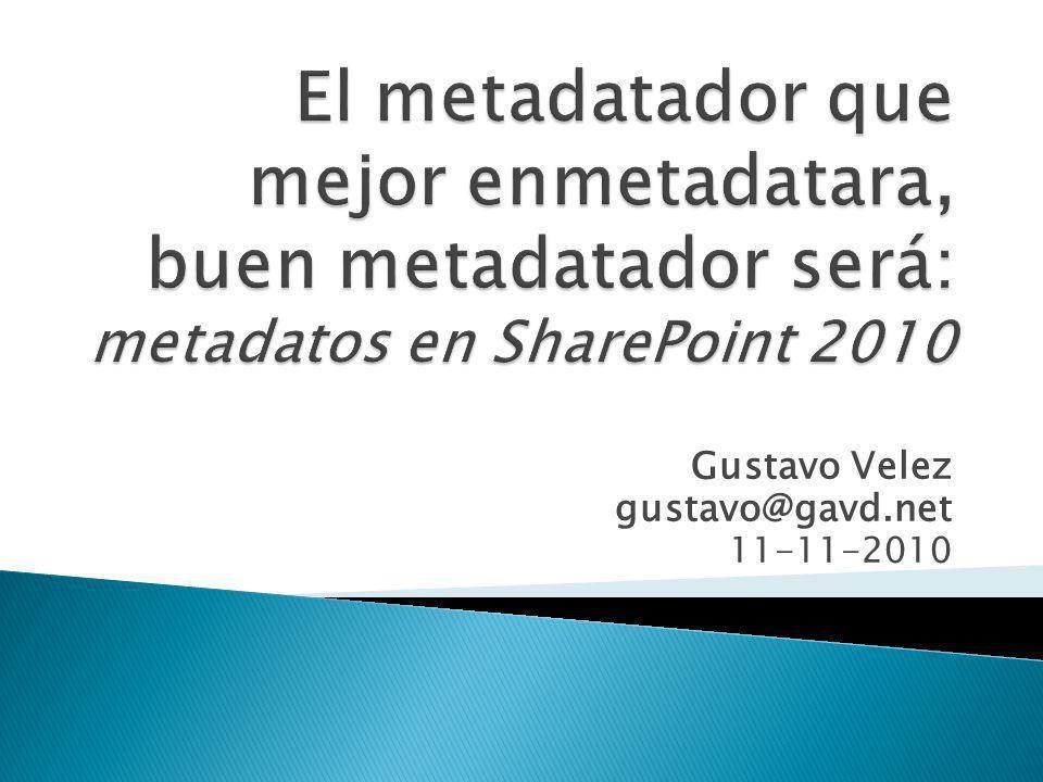Gustavo Velez gustavo@gavd.net 11-11-2010