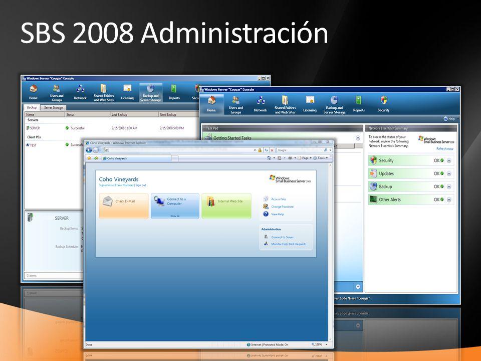 22 SBS 2008 Administración