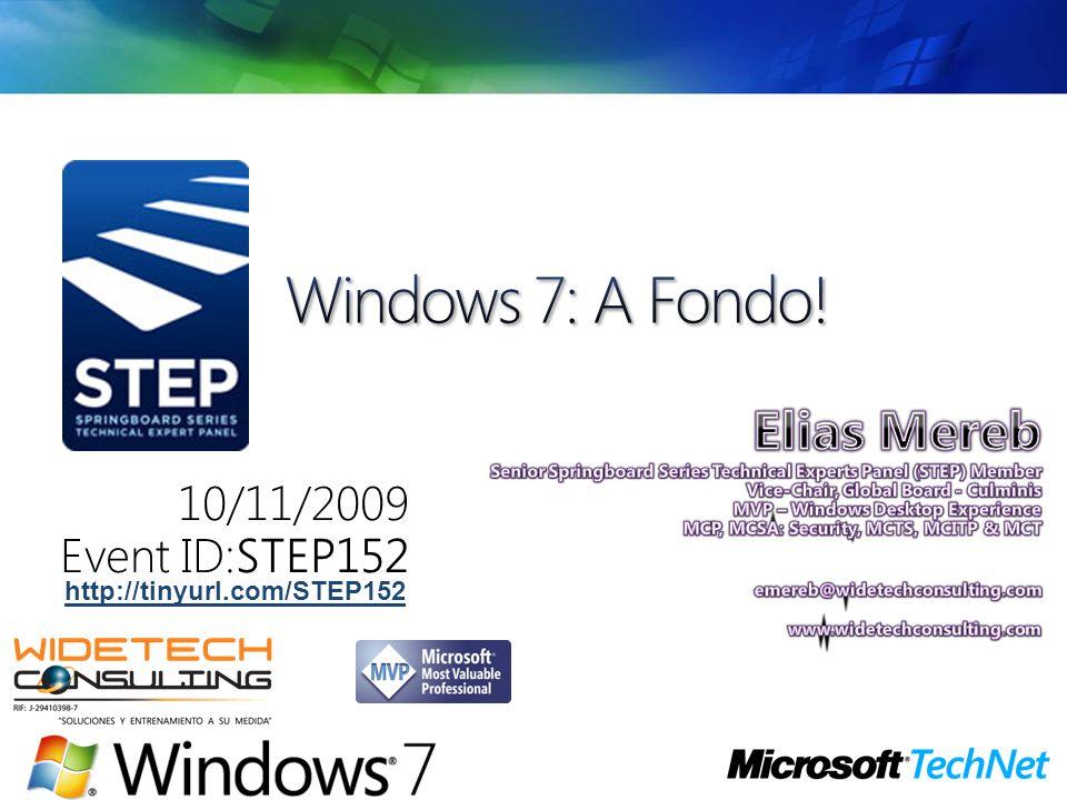 10/11/2009 Event ID:STEP152 http://tinyurl.com/STEP152