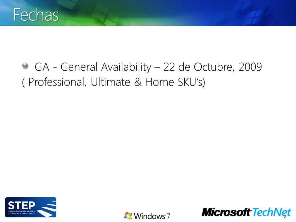 Windows 7 incluye mejoras en User State Migration Tool (USMT), una herramienta de línea de comandos que se usan para migrar configuraciones del sistema operativo, archivos, y demás data de los perfiles de usuario de una PC a otra.