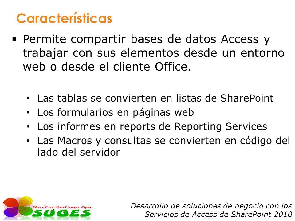 Desarrollo de soluciones de negocio con los Servicios de Access de SharePoint 2010 Get-SPAccessServiceApplication New-SPAccessServiceApplication Set-SPAccessServiceApplication Comandos PowerShell