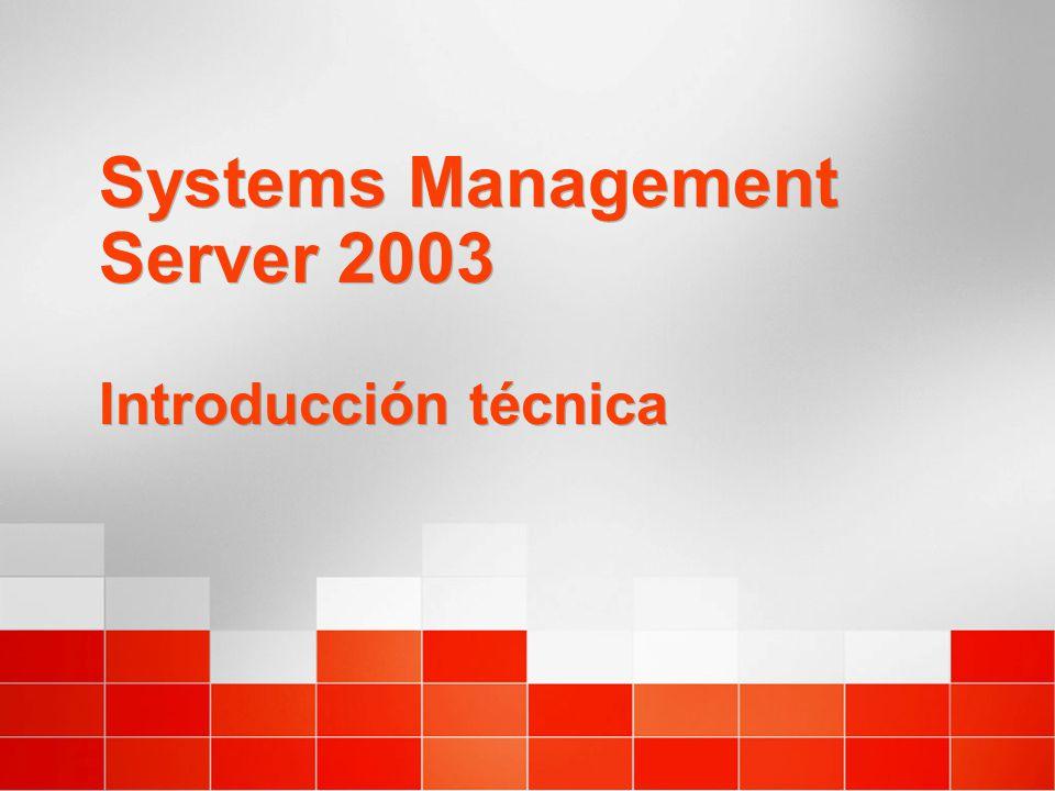 Systems Management Server 2003 Introducción técnica