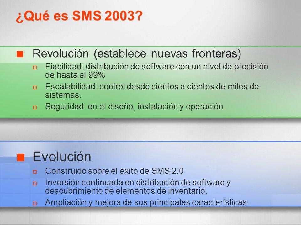 Revolución (establece nuevas fronteras) Fiabilidad: distribución de software con un nivel de precisión de hasta el 99% Escalabilidad: control desde ci