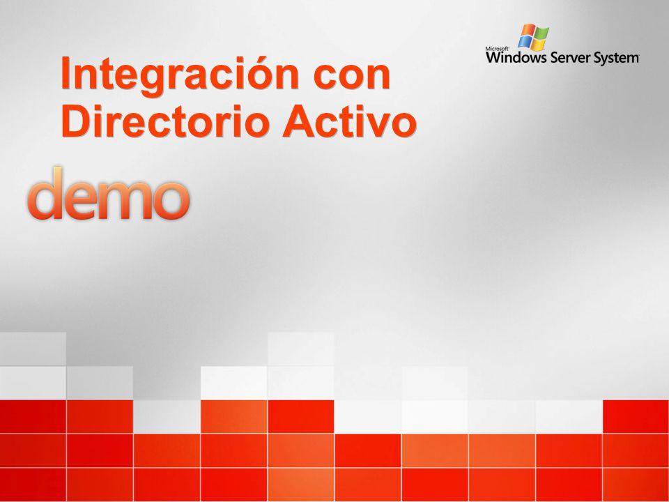Integración con Directorio Activo