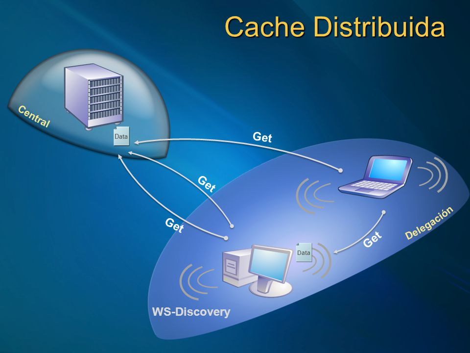 Get Put Cache Centralizada ID Get Data Search Get Search Request Offer ID Data ID Data