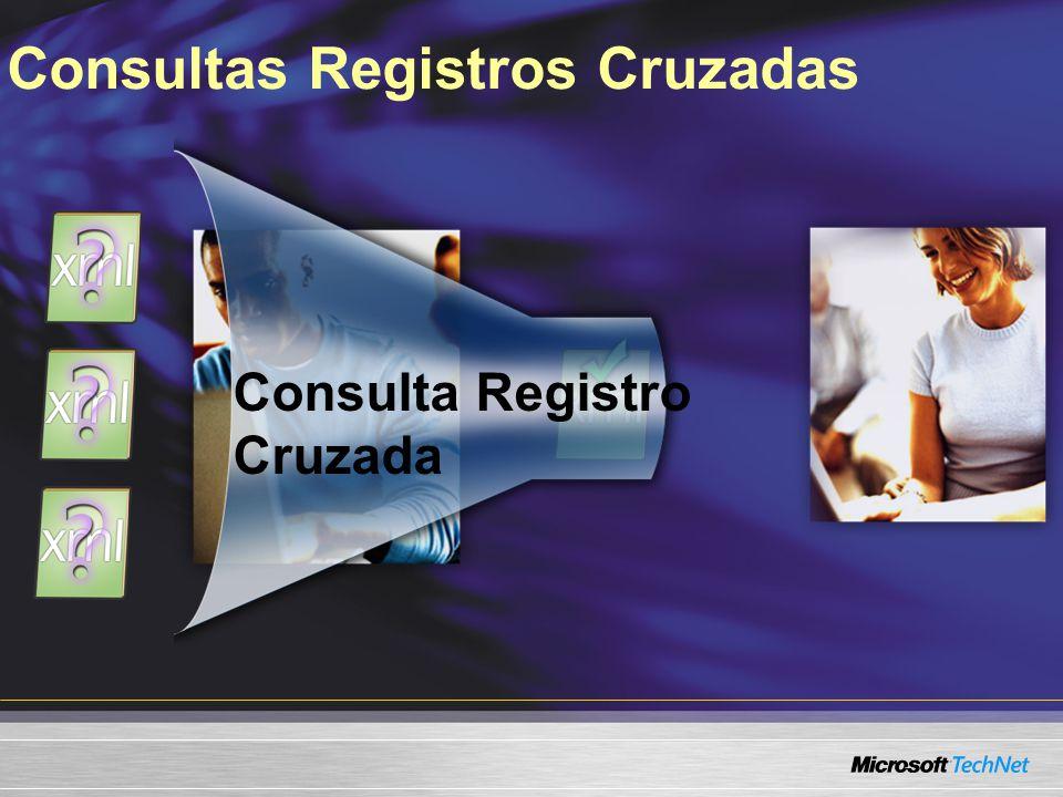 Consultas Registros Cruzadas Consulta Registro Cruzada