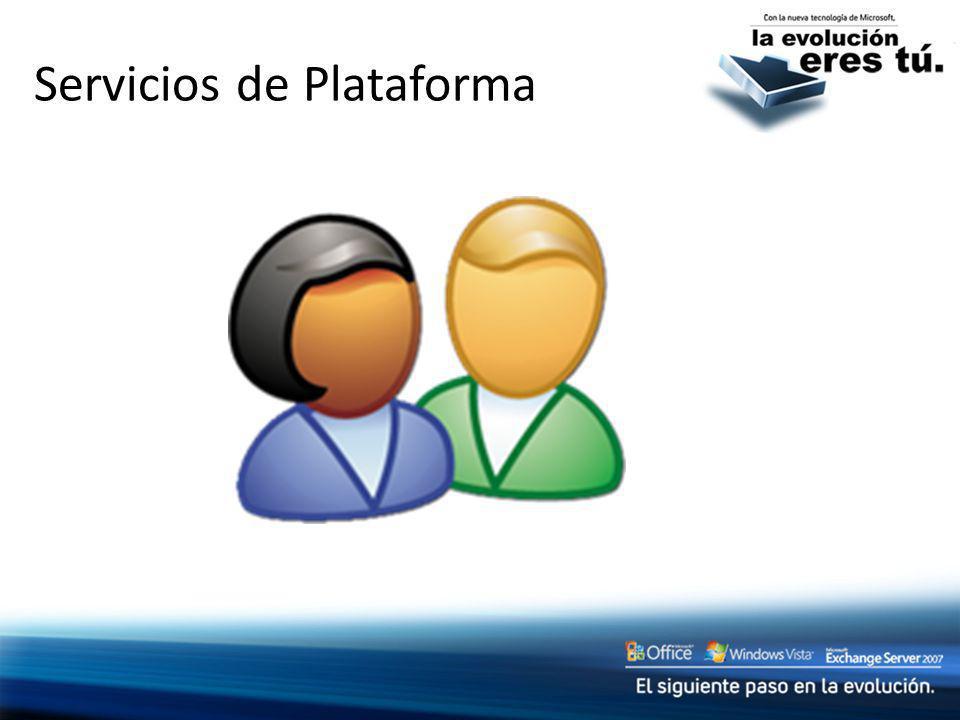 Servicios de Plataforma