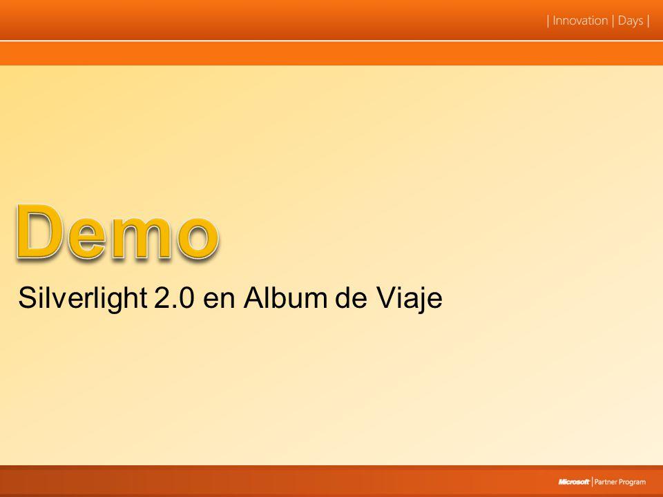 Silverlight 2.0 en Album de Viaje