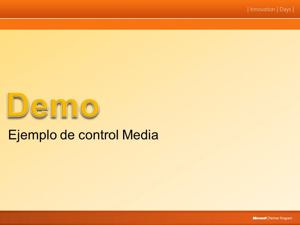Ejemplo de control Media