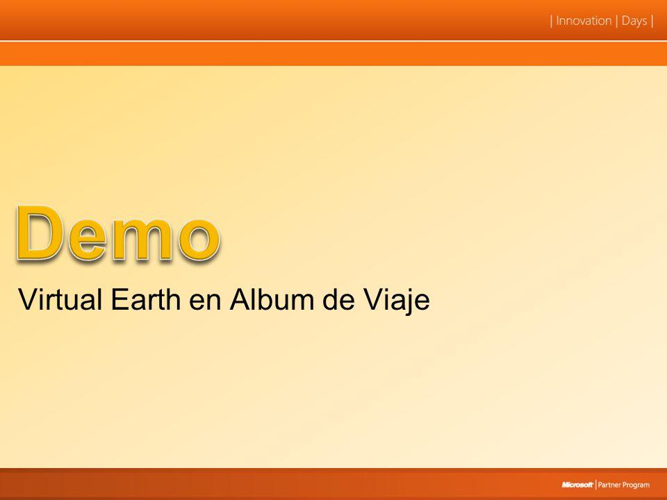 Virtual Earth en Album de Viaje