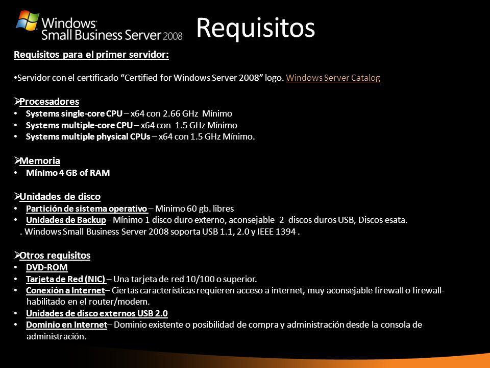 Requisitos the Internet Address Management Wizard to purchase a new one. Requisitos para el primer servidor: Servidor con el certificado Certified for