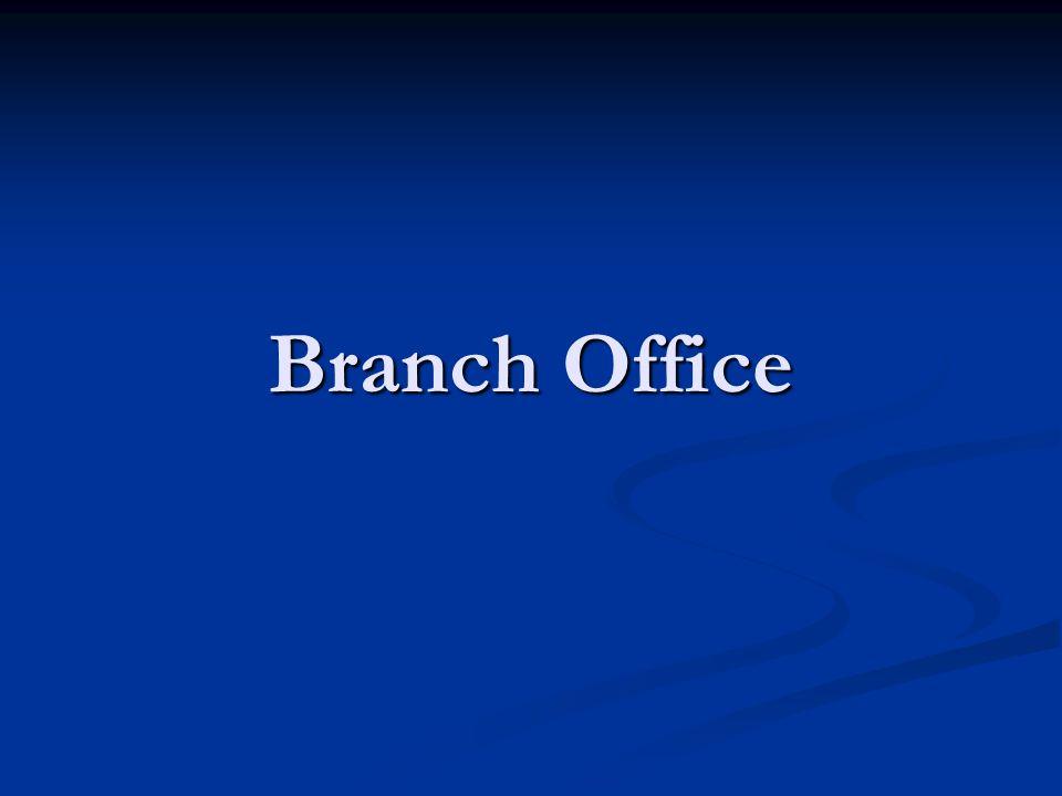 Branch Office