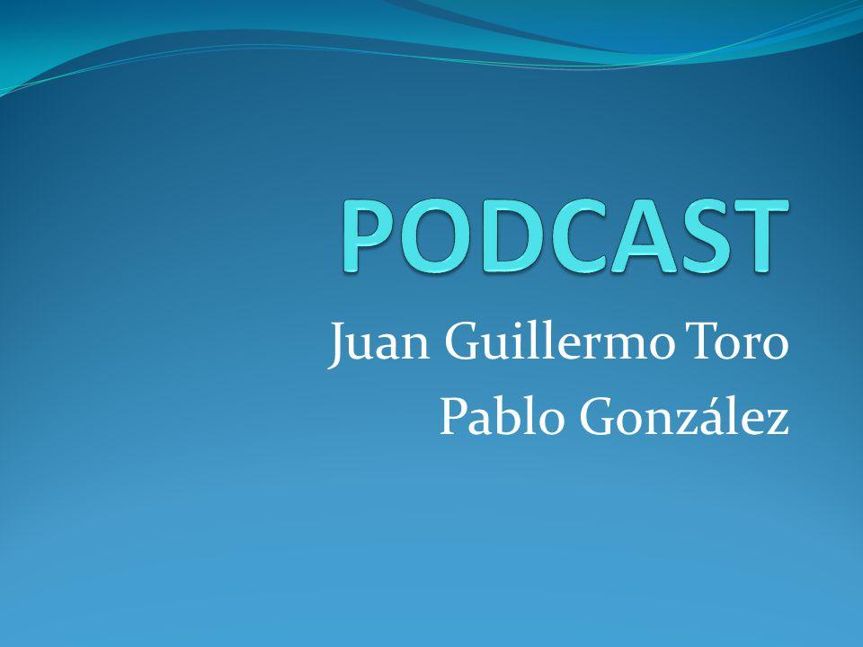 Juan Guillermo Toro Pablo González
