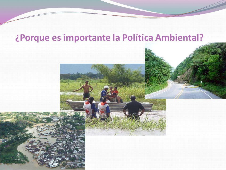 ¿Porque es importante la Política Ambiental?