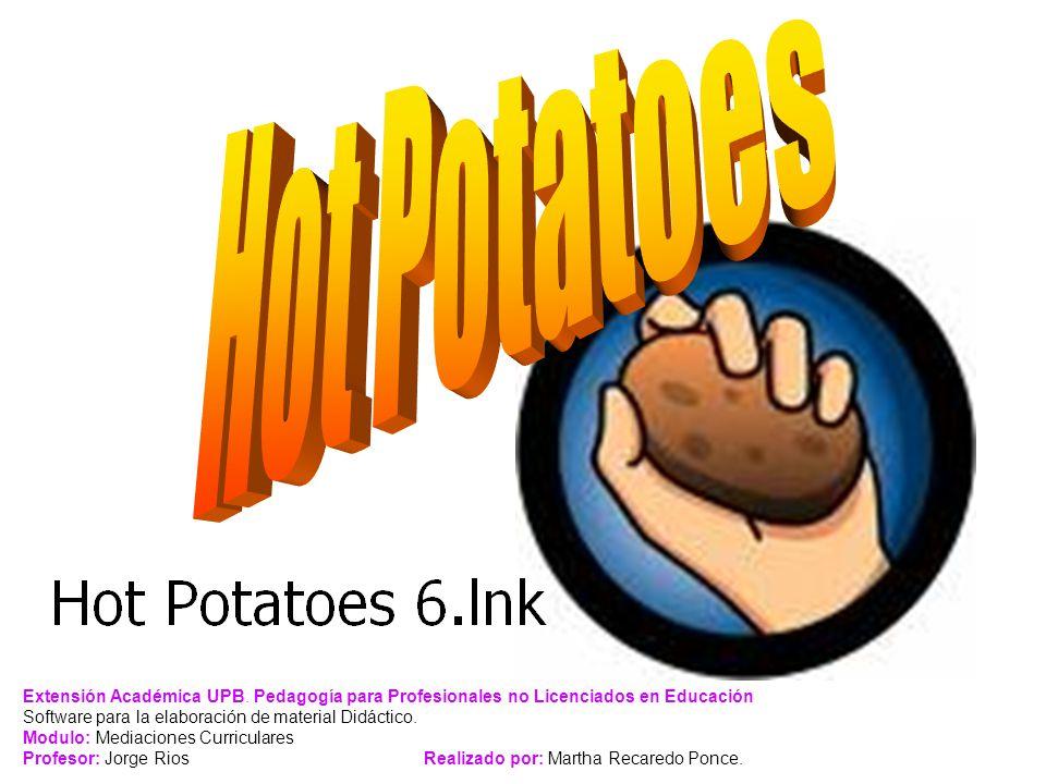 ¿Qué es Hot Potatoes.