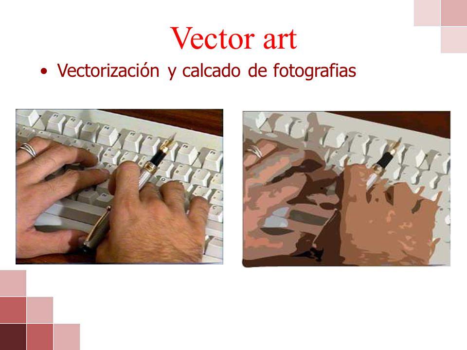Vectorización y calcado de fotografias