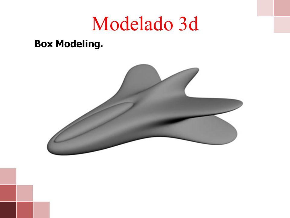 Modelado 3d Box Modeling.