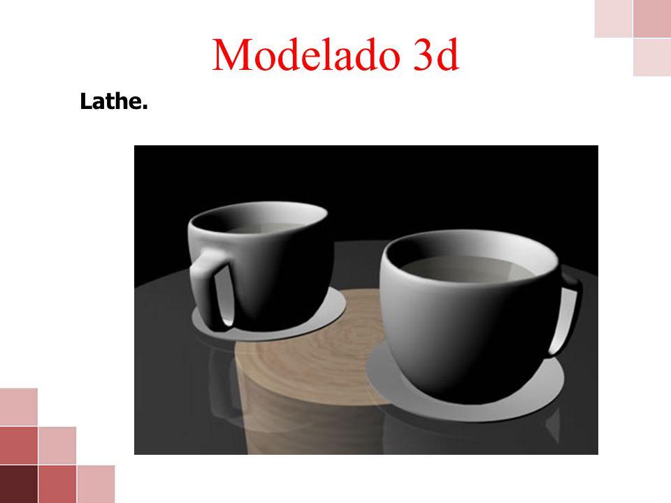 Modelado 3d Lathe.