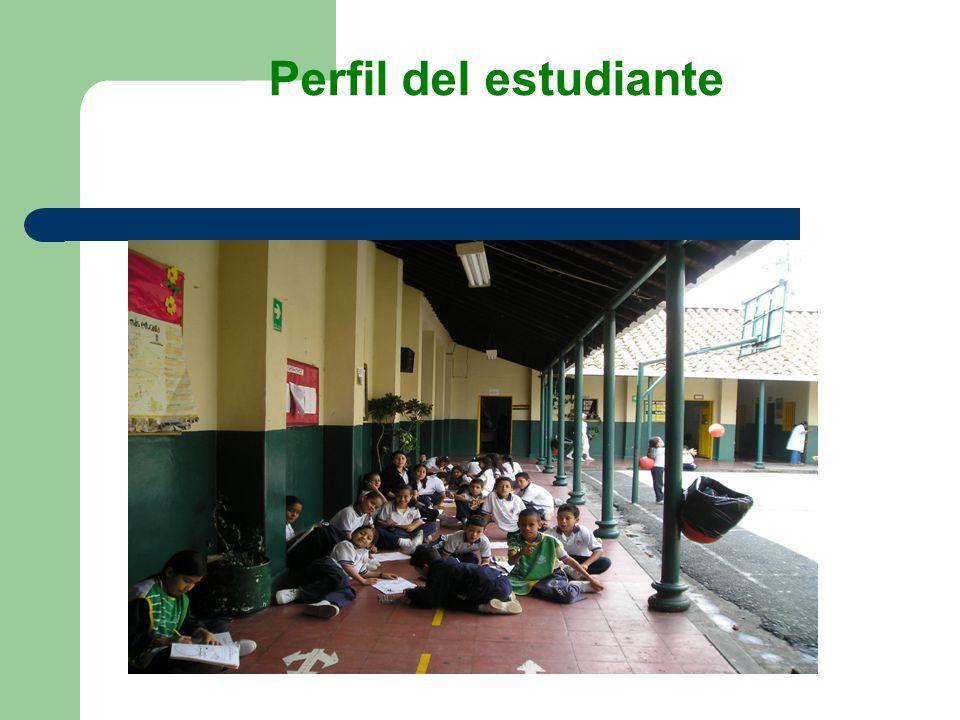 Perfil del estudiante