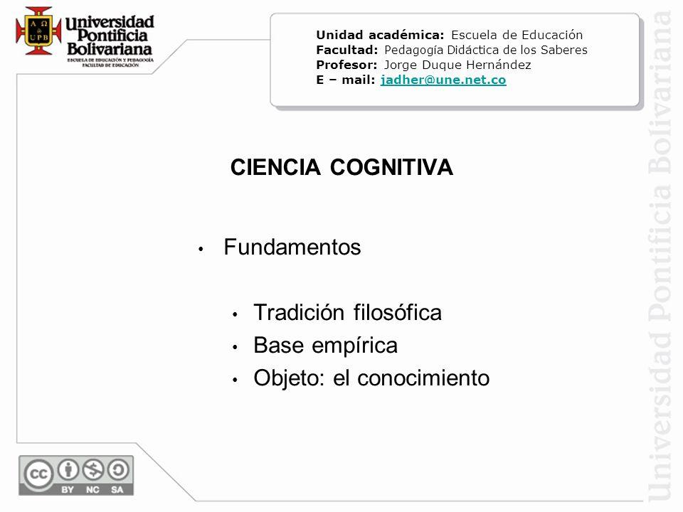 PREGUNTAS DE LA CIENCIA - 1 - ¿De dónde proviene el conocimiento.