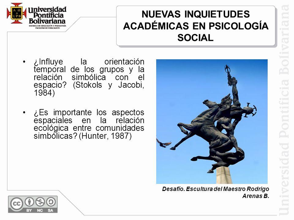 La identidad social también puede derivarse del sentimiento de pertenencia o afiliación a un entorno concreto significativo, resultando entonces una categoría social más (Aragonés, Corraliza, Cortés y Amérigo, 1992).